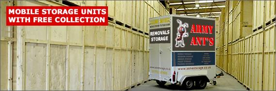 Mobile Storage Units & Storage in Preston | Home and Office Storage Solutions in Preston